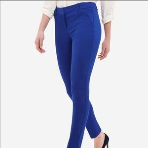 The Limited Ankle Trousers Blue Size 12 Tall NWT